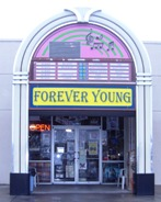 Forever Young Records Store Front